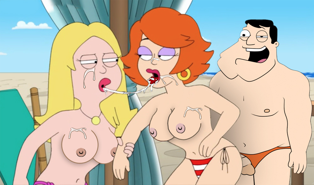 american francine from dad nude Dragon ball z gay sex