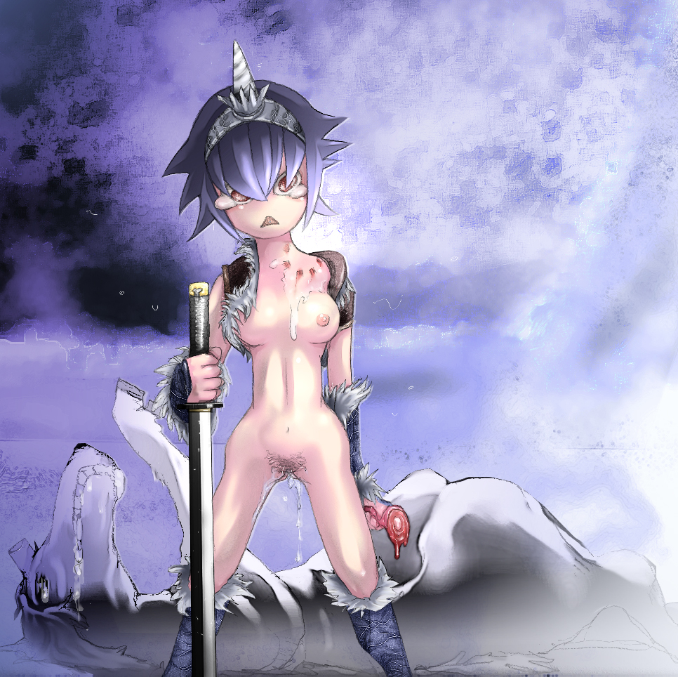 world monster is where legiana hunter Maiden with eyes of blue hentai