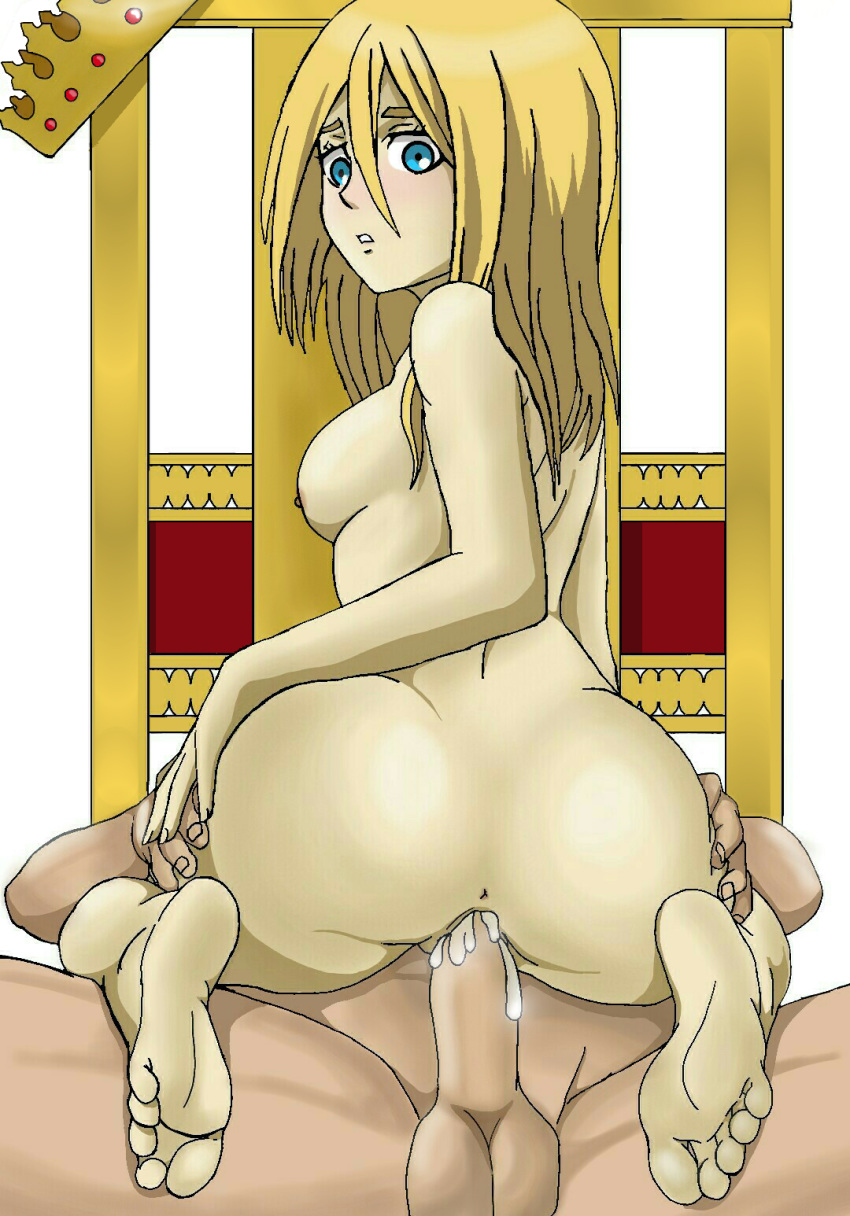 on attack naked girls titan Yellow diamond from steven universe