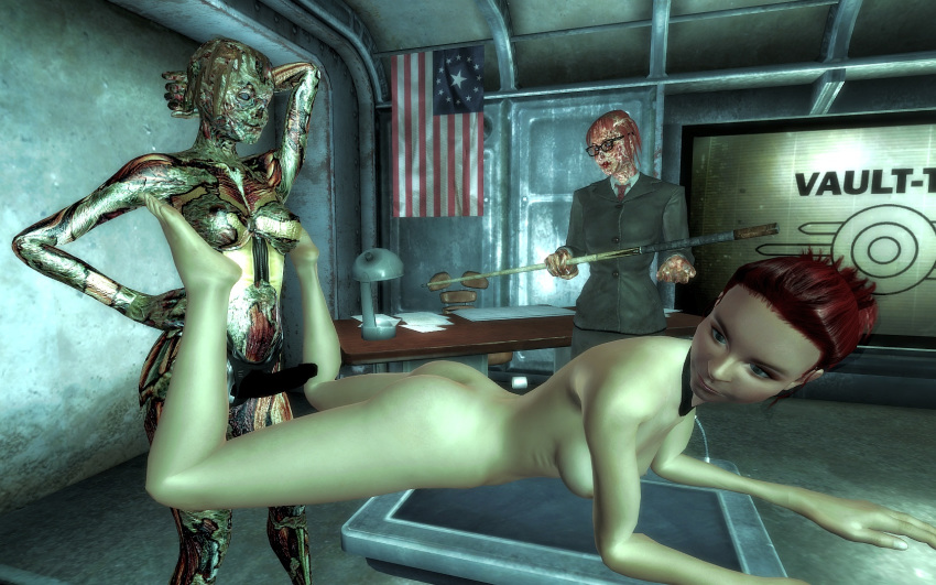 4 curie fallout Maria the virgin witch nudity